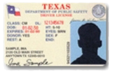 Example of a Photo ID card